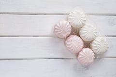 White marshmallow stock photos