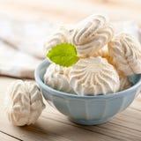 White marshmallows Royalty Free Stock Photos