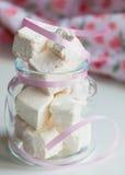 White marshmallows Royalty Free Stock Photography