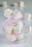 White marshmallows Royalty Free Stock Image