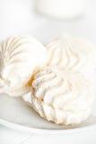 White marshmallows Stock Photos
