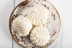 White marshmallows Royalty Free Stock Photo