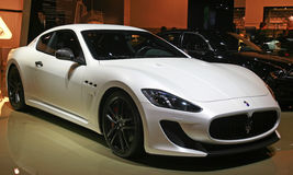 White maserati car Royalty Free Stock Photography