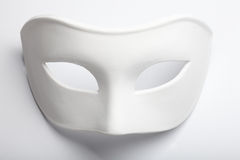 White mask. On the white royalty free stock photography
