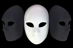 White mask Stock Photography