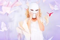 White mask Royalty Free Stock Photos