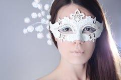 White mask Royalty Free Stock Image