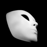 White mask for human face Royalty Free Stock Photos