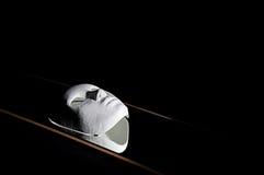 White mask reflection Royalty Free Stock Image