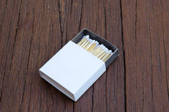 White matches Royalty Free Stock Photography