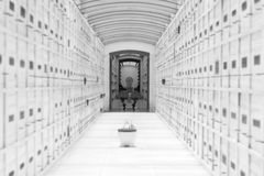 White Mausoleum Royalty Free Stock Images