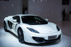 White Mclaren Roadster Royalty Free Stock Photography