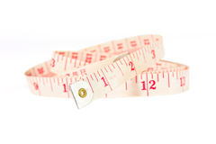 White measure tape Royalty Free Stock Photos