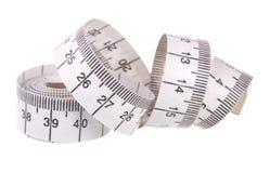 White Measuring Tape Royalty Free Stock Photos