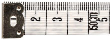 White measuring tape Stock Image