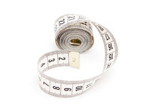 White measuring tape Stock Images