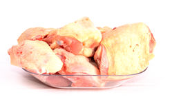 White meat. A chicken pieces in the table Stock Images
