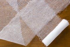 White medical gauze bandage Stock Image