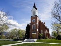 White Memorial Chapel. Royalty Free Stock Photo