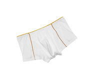 White men's briefs isolated Royalty Free Stock Photos