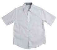 White men`s shirt Royalty Free Stock Photography