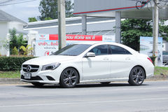 White Mercedes Benz CLA 180 Untamed Royalty Free Stock Photo