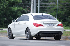 White Mercedes Benz CLA 180 Untamed Stock Photography