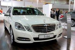 White Mercedes-Benz E-class Stock Photos