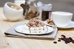 White meringues Royalty Free Stock Image