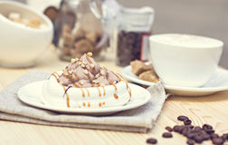 White meringues Royalty Free Stock Photo