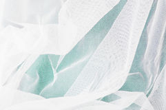White mesh fabric Stock Images