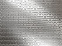 White metal background Royalty Free Stock Photos