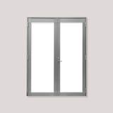 White metal door Stock Image
