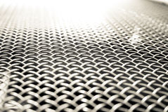 White metal grid Stock Photo