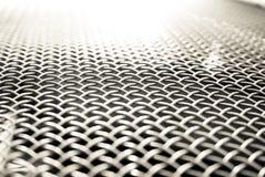 White metal grid Stock Photo