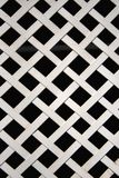 White metal lattice Stock Photos