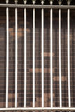 White Metal Railings Stock Photo