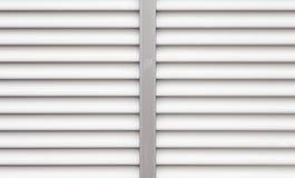 White metal window texture Stock Image