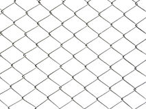 white metal wire mesh Stock Image