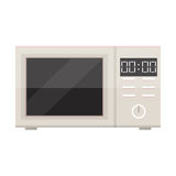 White microwave isolated Stock Images