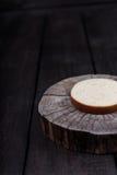 White milk cheese Stock Image