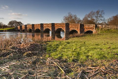 White Mill bridge Stock Photography