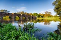 White Mill Bridge Royalty Free Stock Photography