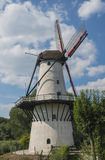 White Mill. 'De Vlinder' in Deil, the Netherlands Royalty Free Stock Photos
