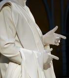 White mime 2 Royalty Free Stock Photo