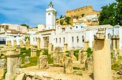 The white minaret Stock Photo
