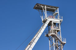 White mine tower Royalty Free Stock Photos