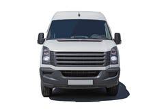White minibus Royalty Free Stock Photo