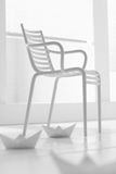 White minimal chair Royalty Free Stock Photos