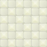 White Minimalistic Seamless Pattern Cell Royalty Free Stock Image